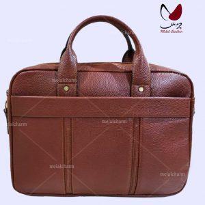 حقيبة الجلدية