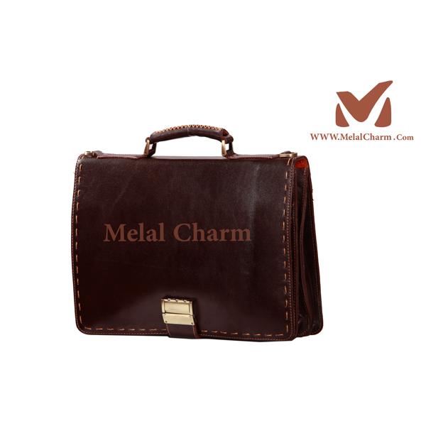 کیف های اداری چرم طبیعی | گروه تولیدی کیف چرم ملل | تولیدی کیف ...کیف دستی چرم طبیعی زیر تک بند کد 102