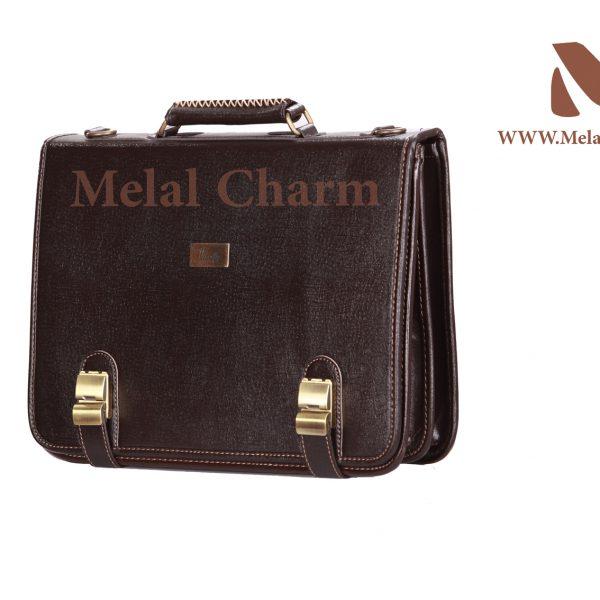 کیف چرمی زیر دو بند ساده 2187 | گروه تولیدی کیف چرم ملل | تولیدی ...کیف ...