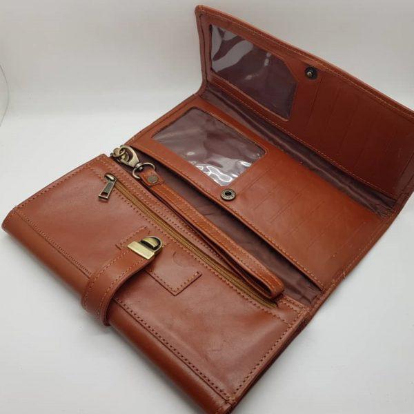 کیف پو چرم طبیعی زنانه