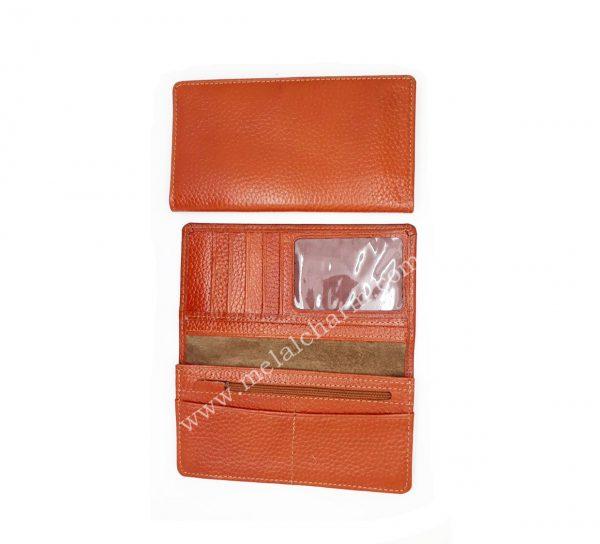 تولیدی کیف پول چرم طبیعی مردانه