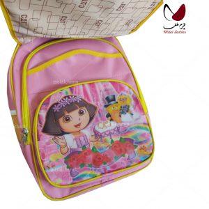 تولیدکننده کوله پشتی مدرسه دخترانه مدل 91 رنگ صورتی